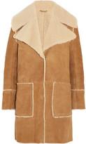 MiH Jeans Fairport Shearling Coat - Tan