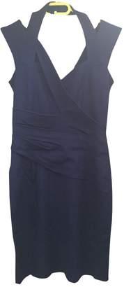 Reiss Blue Cotton - elasthane Dress for Women