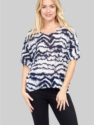 M&Co Izabel tie dye oversized t-shirt