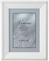 "Lawrence Frames Lightly Distressed 8 x 10"" Picture Frame, Outer Rope Design"