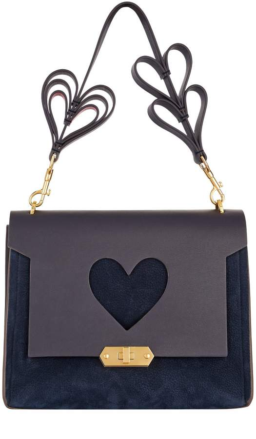 Anya Hindmarch Bathurst Heart Satchel