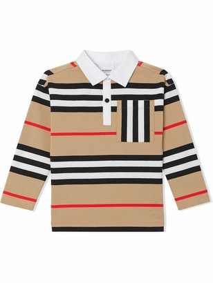 Burberry Beige Cotton Polo Shirt