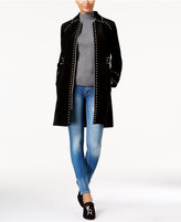 INC International Concepts Anna Sui Loves Studded Suede Coat, Created for Macy's