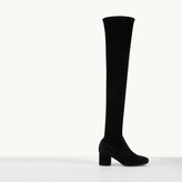 Maje Suede thigh boots