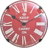 Asstd National Brand FirsTime Keep Time Wall Clock