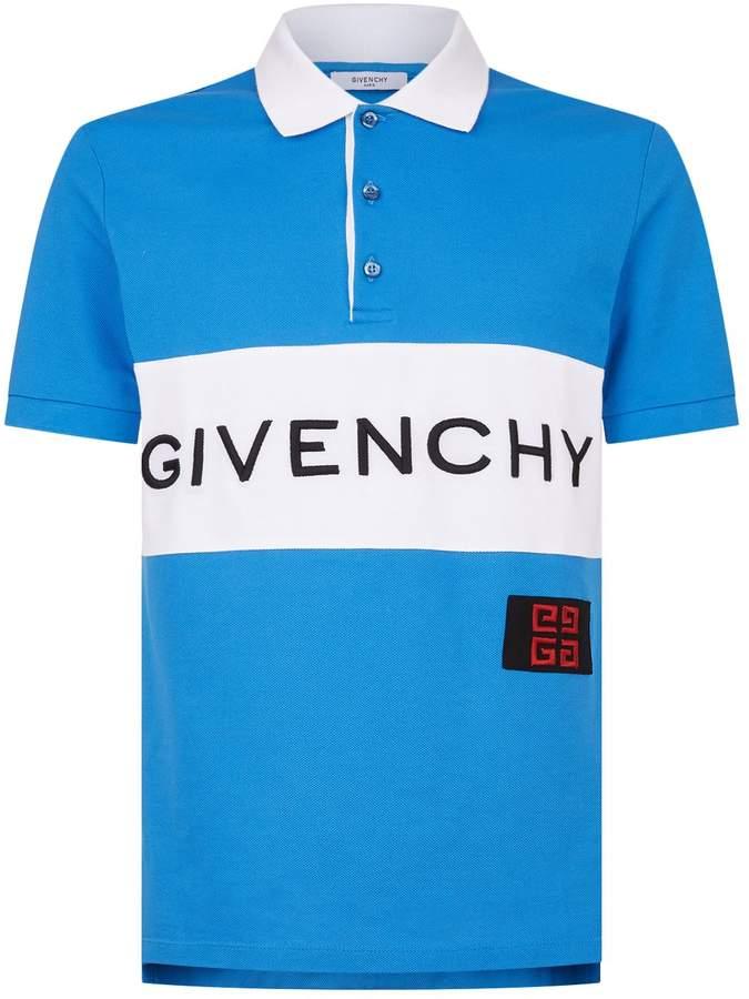 Givenchy Logo Polo Shirt