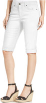 Style&Co. Style & Co. Cuffed Denim Skimmer Shorts, Only at Macy's