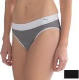 Puma Seamless Pinstripe Panties - 2-Pack, Bikini (For Women)