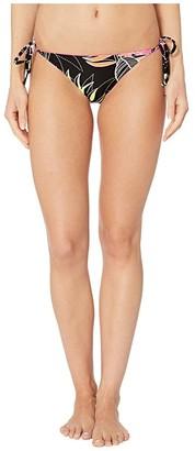 Becca by Rebecca Virtue Miami Ribbed Tie Side Bottoms (Multi) Women's Swimwear