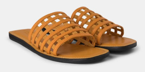 Shoe The Bear Tao Cage Sandals In Yellow - 36