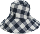 Maison Michel checkered hat