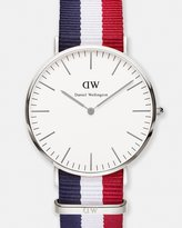 Daniel Wellington Classic Cambridge Silver 40mm