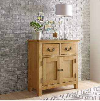 Luxe Collection London Oak Ready Assembled Compact Sideboard