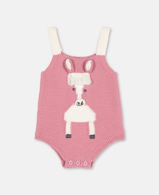 Stella Mccartney Kids Horse Intarsia Knit Body, Unisex
