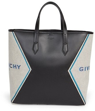 Givenchy Bond Canvas Leather Tote