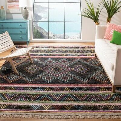 Dakota Fields Brown Area Rug Rug Size Rectangle 8 X 10 Shopstyle