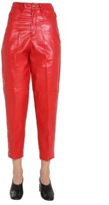 Philosophy di Lorenzo Serafini Faux-Leather Trousers