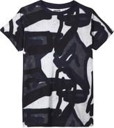 Molo Ravento graffiti print cotton T-shirt 4-14 years