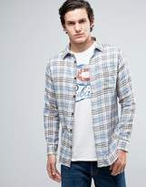 Jack and Jones Vintage Shirt in Slim Fit Check Cotton