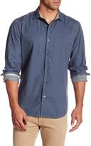 Ganesh Long Sleeve Oval Print Shirt