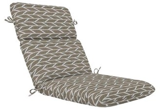 """Charlton Home High Back Indoor/Outdoor Chaise Lounge Cushion Fabric: Blue, Size: 3.5"""" H x 22"""" W x 46"""" D"""