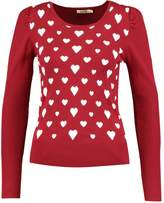 Molly Bracken Jumper dark red