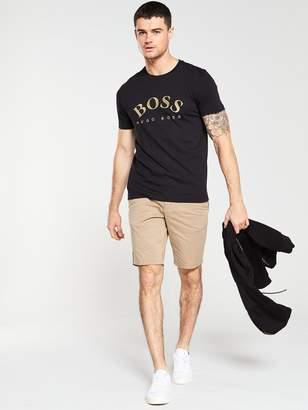 BOSS Large Logo T-Shirt - Black