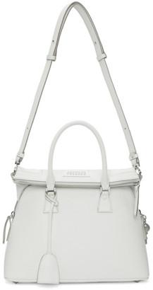 Maison Margiela White Medium 5AC Bag