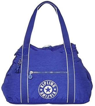 Kipling New Classics Art Medium Tote Bag (Laser Blue) Bags
