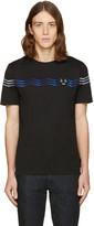 Fendi Black Zig Zag T-shirt