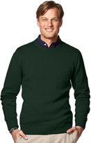 Chaps Men's Classic-Fit Solid Crewneck Sweater