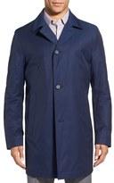 BOSS Men's 'Dais' Cotton Blend Rain Coat