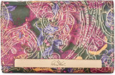 Patricia Nash Metallic Tooled Lace Cametti Wallet