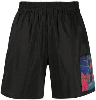 McQ Patch-Embellished Shorts