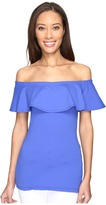 Susana Monaco Ruffle Off Shoulder Top Women's Dress