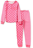 Sweet Heart Rose Big Girls 7-14 Heart-Print Top & Pants Pajama Set