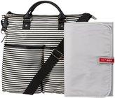Skip Hop Duo Special Edition Diaper Bag - Black Stripe