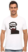 Robert Graham Red Bandana Short Sleeve Knit T-Shirt