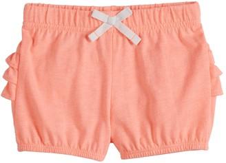 Baby Girl Jumping Beans Ruffled Bubble Shorts