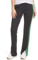Pam & Gela Women's Stripe Scuba Knit Track Pants