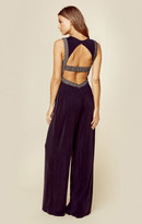 KENDALL + KYLIE cut-out jersey jumpsuit