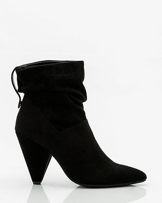 Le Château Pointy Toe Cone Heel Ankle Boot