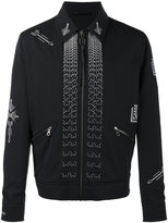 Lanvin arrow stitch jacket