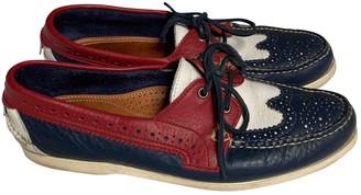 Thom Browne Multicolour Leather Flats