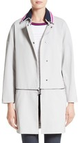 St. John Women's Stretch Twill Convertible Coat