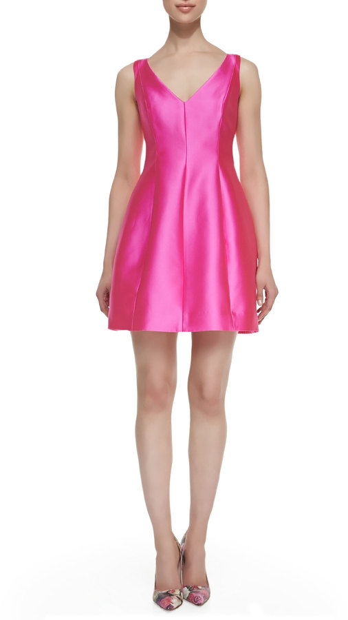 Kate Spade Kte Spde New York Sleeveless Structured Mini Dress