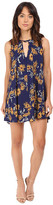 Brigitte Bailey Uzma Sunflower Print Sleeveless Dress