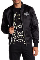 Eleven Paris ELEVENPARIS Sonic Youth Embroidered Logo Bomber Jacket