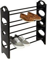 Honey-Can-Do 4-Tier Circle Cut Out Shoe Rack