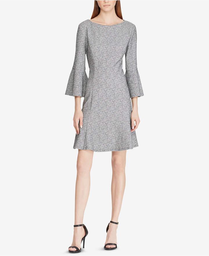 American Living Tweed Bell-Sleeve Dress